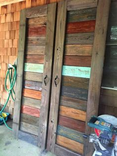Best Rustic Barn Wood Decor Ideas for Home Accents Barn Door Pantry, Wall Pantry, Pantry Sign, Making Barn Doors, Barn Wood Decor, Sliding Barn Door Hardware, Sliding Doors, Entry Doors, Patio Doors