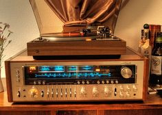 Golden Age Of Audio: Kenwood KR 11000 G, Dual 1249