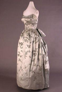 Dior ball gown, 1955