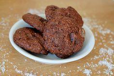 Une pipelette en cuisine: Cookies chocolat-coco-ananas