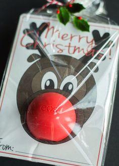 Rudolph eos lip balm gift