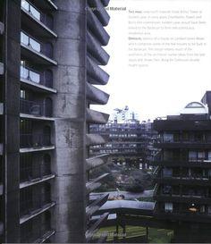Barbican: Penthouse Over the City Barbican, Brutalist, Skyscraper, Multi Story Building, David, Museum, Island, London, Amazon