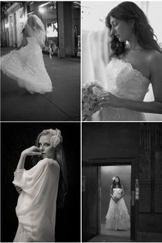 Photography by Joshua Zuckerman using gowns and accessories from Gabriella New York Bridal Salon