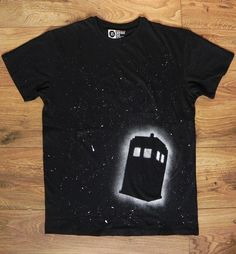Made to Order Doctor Who TARDIS T Shirt Mens by StormFoxDesign, £15.00