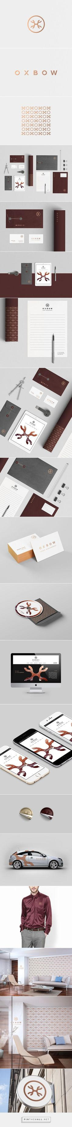 Oxbow Asset Management on Behance a grouped images picture Pin Them All If you like UX design or design thinking check out Logo Design, Brand Identity Design, Graphic Design Branding, Design Agency, Brand Design, Corporate Design, Corporate Identity, Business Design, Design Thinking