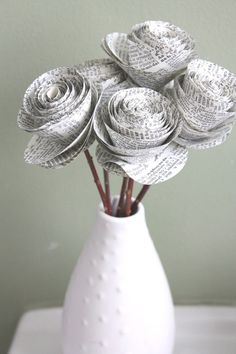 bouquet mariee en papier - Cerca con Google