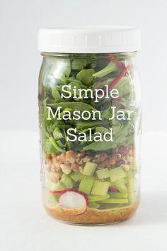 5 idées de repas en pots Mason [Parfaits pour les dîners] | Marginale et heureuse