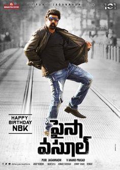 NBK-PURI Paisa Vasool Movie Firstlook Posters