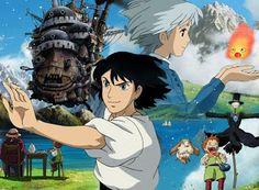 Hauru no ugoku shiro ハウルの動く城 Howl's Moving Castle El castillo vagabundo yürüyen şato Howl's Moving Castle, Hayao Miyazaki, Otaku, Howl And Sophie, Studio Ghibli Movies, Castle In The Sky, Another Anime, Image Manga, Great Films