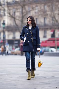 Military Coat Style by Fashion & Lifestyle blogger Stella Asteria