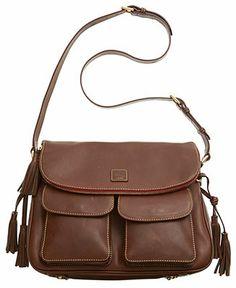 Dooney & Bourke Handbag, Florentine Zip Flap Foldover Bag - Crossbody & Messenger Bags - Handbags & Accessories - Macy's