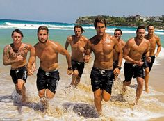 This should be normal. In the beach, running around, that should be you're normal state. -- They're usually in blue uniforms for the classic reality show Bondi Rescue but they've dec...