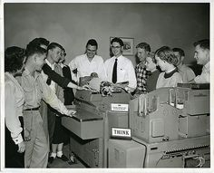 Baylor University School of Business, IBM 405 Electric Punched Card Accounting Machine, c.1950s