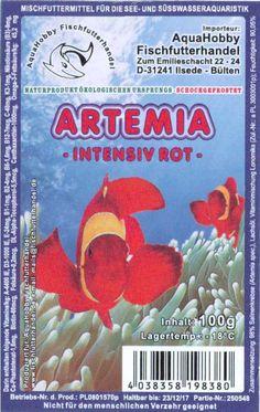 Frostfutter Artemia intensiv rot, ist durch den hohen natürlichen Anteil an Vitaminen, Eiweißen, Mineralien und Ballaststoffen das leicht verdauliche Idealfutter für kleine Süßwasser-Zierfische und Seewasserfische und fördert durch den...