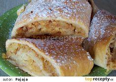 Jablečný závin bez kynutí recept - TopRecepty.cz Hot Dog Buns, Hot Dogs, French Toast, Bread, Breakfast, Recipes, Decor, Morning Coffee, Decoration
