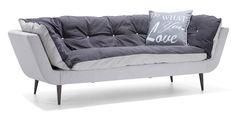 Asko - SUVI 3h sohva Verhoilu Lauritzon's Alaska-kangas.