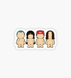 Red hot chili avatars Sticker