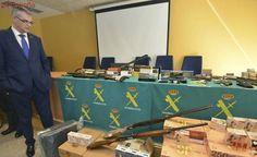 Cae en Tomiño un taller ilegal de reparación y venta de armas