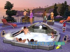 Now that's a Sims party :P