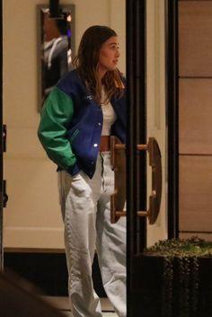 West Hollywood California, Rain Jacket, Bomber Jacket, London Hotels, Hailey Baldwin, Windbreaker, Street Style, Model, Jackets