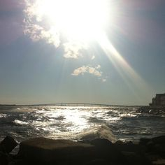 Longport Point, NJ after the hurricane ... We are so lucky