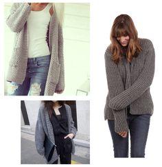 Nos encantan los looks casual con un buen #tricot que te protega del frío! #orelsebarcelona #fallwinter #handmade #fashion #moda