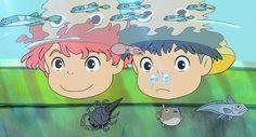 PONYO. #StudioGhibli