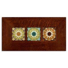 4x4 Alhambra Framed Tile Set