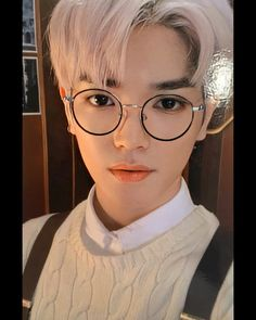 """""""these glasses on taeyong>"""" Winwin, Jaehyun, Chica Cool, Anime Dolls, Nct Taeyong, My Sunshine, Pucci, Nct Dream, Lost Boys"""