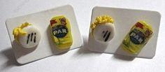 Estos #zarcillos especiales para los #venezolanos que les encanta su #comida #tipica #arepa #harinapan #caracas #venezuela #vzla #hechoamano #manual #manualidades #ventas #catalogo #mayor #detal #accesorios #bisuteria www.gscmoda.com