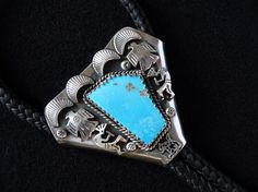 Bolo - Native american mexican jewellery - Made it from Kokopelli Guadarrama :-) Mexican Jewelry, Turquoise Bracelet, Native American, Jewelry Making, Jewellery, Bracelets, How To Make, Fashion, Make Jewelry