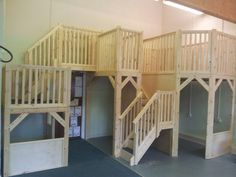 A great big bespoke Classroom loft. Especially made to make more space in the classroom