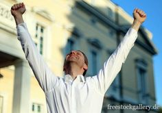 Siegertyp, Erfolg, Gewinner - freestockgallery.de Gratis Download, Holding Hands, Business, Store, Business Illustration