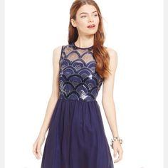As U Wish Juniors Sequin Formal Dress