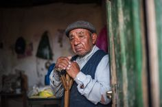 Photo and caption by Efraín Dávila  Almost blind from diabetes and very fragile health this humble worker rural Guillermo Pino, 69, has worked as a child laborer farm in much of the Northern Patagonia. His last working years were in St. Thomas Ranch near the village of Piedra del Águila.