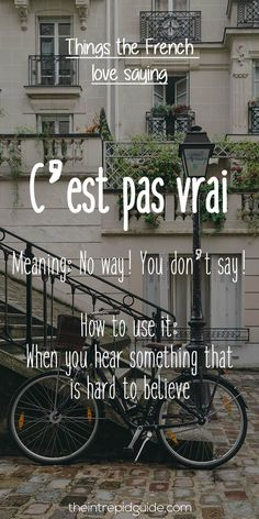 10 French Phrases the French Love Saying Revealed!