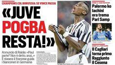Rassegna stampa sportiva Italia: Juventus, Pogba blindato, serve la scossa - http://www.maidirecalcio.com/2015/11/03/rassegna-stampa-sportiva-italia-juventus-pogba-blindato-serve-la-scossa.html