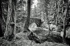 A stone bridge over a gorge, location of unexplained deaths.