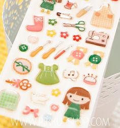 Cute stickers for cute girls! Kawaii Stickers, Cute Stickers, Cute Stationery, Tarts, Cute Girls, Tea, Shop, Mince Pies, Pies