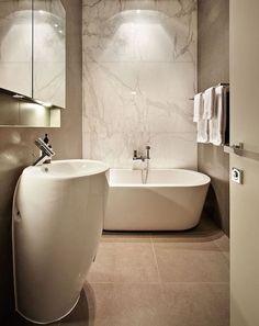 faience murale imitation marbe pour salle de bain moderne design