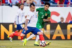 Gary Medel en el Chile 2 - Bolivia 1