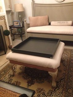 Ottoman Trays Home Decor Captivating Ottoman Tray Decorvery Beautifully Done Sis  Home Ideasdecors Inspiration Design