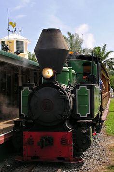 Bally Hooley Steam Train- operates Sundays from the Marina Mirage Port Douglas. #marinaportdouglas #steamtrains