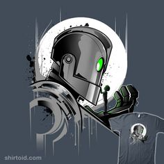Iron Giant T-Shirt by Inkone. My Giant Friend. Show everyone that you are a fan of the Iron Giant with this Giant Friend t-shirt. Art Tumblr, The Iron Giant, Arte Cyberpunk, My Giants, Steampunk, Cool Logo, Disney Art, Cool Artwork, Body Art Tattoos