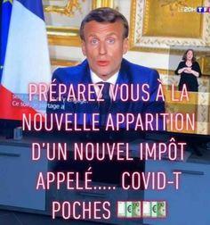 nouvel impôt, est une image drôle publiée le 20 Avril 2020 par villedieu.francois. Réagissez à cette image drole et d'actualité Pure Fun, Quotations, Jokes, Lol, Messages, Humor, Funny, Avril, Living Alone