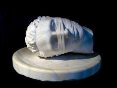 Testa di San Giovanni Battista (Igor Mitoraj)