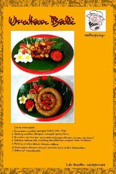 Urutan Bali (Balinesse traditional sausage)