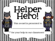 Ways to motivate students to be on their best behavior, to do their best work, and to keep their desks clean. Superhero Classroom Rules, Superhero Room, Classroom Themes, School Classroom, Superhero City, Super Hero Day, Kindergarten Assessment, Student Awards, School Themes