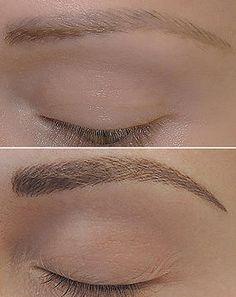 hair stroke permanent eyebrows - Google Search