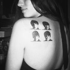 the Beatles tattoo